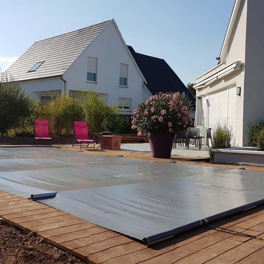 Installation de piscine coque Alliance